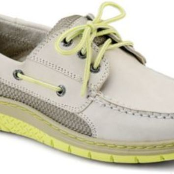 Sperry Top-Sider Billfish Ultralite 3-Eye Boat Shoe Ivory/Lime, Size 10M  Men's Shoes