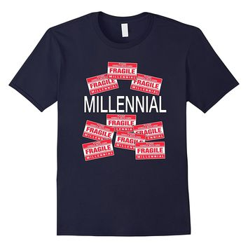 Funny Cute Halloween Geek Fragile Millennial Costume Shirt