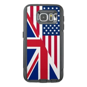 American Union Jack Flag Samsung Galaxy S6 Case