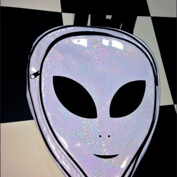 SWEET LORD O'MIGHTY! HOLOGRAPHIC ALIEN BACKPACK