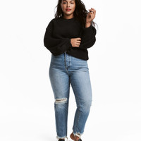 H&M H&M+ Vintage High Ankle Jeans $49.99