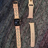 Apple Watch Series 2 38mm Aluminum Case Pink Sport Band - (MNNY2LL/A)