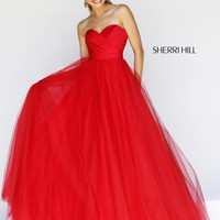 2014 Sherri Hill Ball Gown Prom Dress 11066