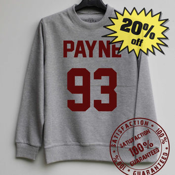 Liam Payne 93 Shirt One Direction 1D Sweatshirt Sweater Shirt – Size XS S M L XL