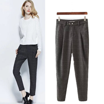 Stylish Casual Women's Fashion Pants Skinny Pants [5013157252]