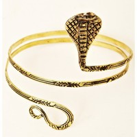 Natalie B Jewelry - Snake Coil Arm Band