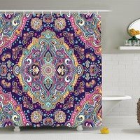 Bohemian Festival Shower Curtain