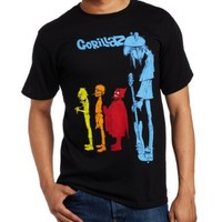 FEA Merchandising Men's Gorillaz Rock The House T-Shirt