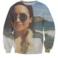 Check out this Demi lovato sweater 🌚