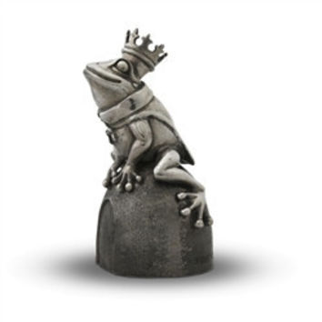 Pewter Frog Prince Music Box