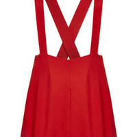 Red Crepe Pinny - New In This Week  - New In