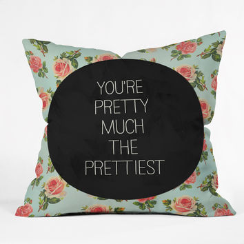 Allyson Johnson Pretty Much The Prettiest Throw Pillow