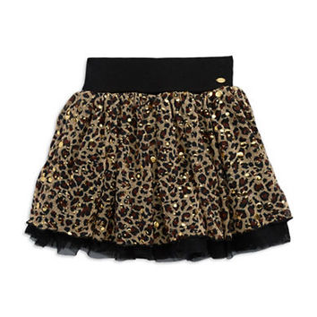 Guess Girls 7-16 Leopard Print Tutu Skirt