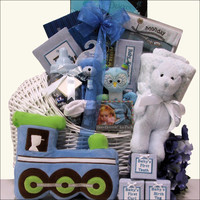 Little King Baby Boy Baby Gift Basket