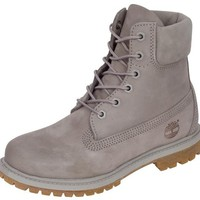Timberland Womens 6 Inch Premium Grey - Free Shipping. Easy Returns