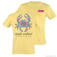 Simply Southern Sunrise Crab Short Sleeve