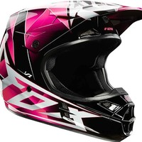 Fox Racing V1 Radeon Helmet - Medium/Pink