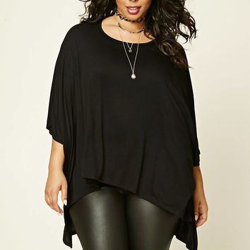 Plus Size High-Low Top