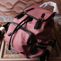 Burberry Hot Style Canvas Small The Rucksack Backpack Bag