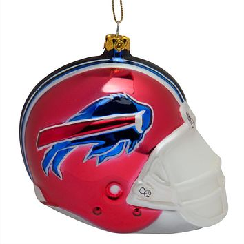 Buffalo Bills - Glass Helmet Ornament