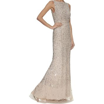 Alice + Olivia Saba Embellished Gown | Harrods