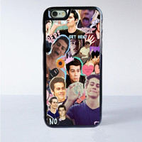 Teen Wolf Dylan Obrien Collage iPhone 6S Case