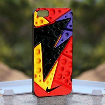 NIKE Jordan Retro 7 RAPTOR, Print on Hard Cover iPhone 5 Black Case