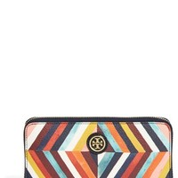Women's Tory Burch 'Kerrington' Continental Wallet