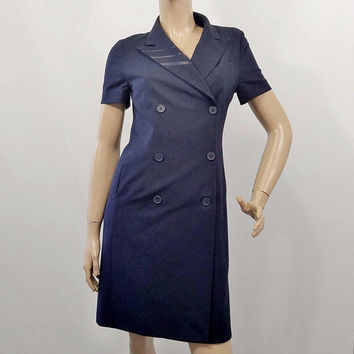 Delta Airline Uniform Flight Attendant Dress Vintage Stewardess Cabin Crew Uniform Dress Sz 2P Aviation Collectibles Airline Memorabilia