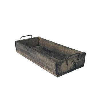 Wooden Slatted Box Crate PR2525