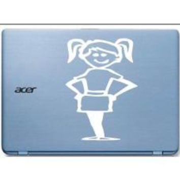 Girl Car Window Vinyl Decal Tablet PC Sticker