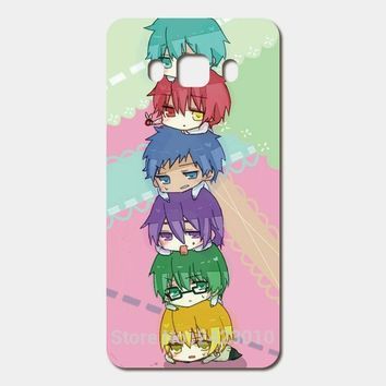 High Quality Cell phone case For Samsung Galaxy 2016 J5 J7 J3 J1 A3 A5 A7 Hard PC Kuroko no Basket kawaii anime Patterned Cover