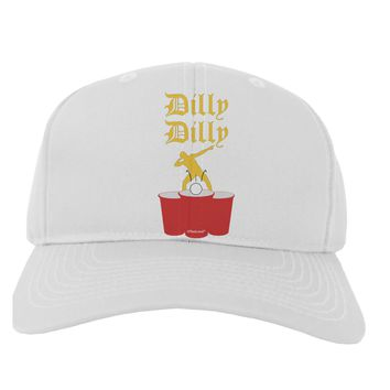 Dilly Dilly Funny Beer Adult Baseball Cap Hat by TooLoud
