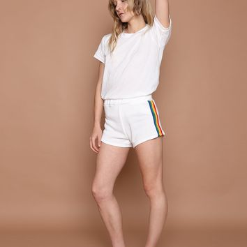 RAINBOW TRACK STAR SHORTS