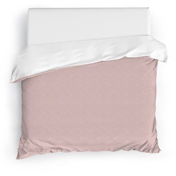 KAIYO PINK Duvet Cover By Tiffany Wong