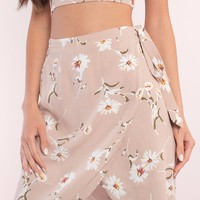 Ruthie Floral Print Wrap Skirt