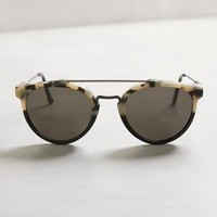 Super Jaguar Sunglasses by Super by Retrosuperfuture Black & White All Eyewear