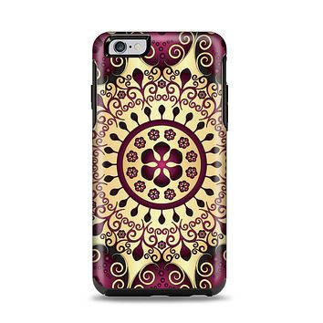 The Mirrored Gold & Purple Elegance Apple iPhone 6 Plus Otterbox Symmetry Case Skin Set