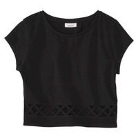 AMBAR Women's Crop Top - Ebony