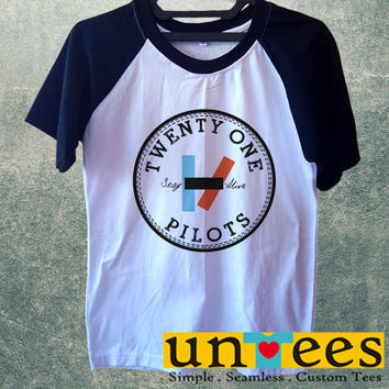 Twenty One Pilots Stay Alive Short Raglan Sleeves T-shirt