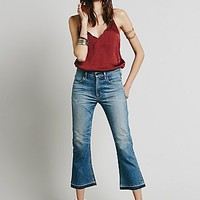 Citizens of Humanity for Free People Womens Summer Of Love Crop Flare