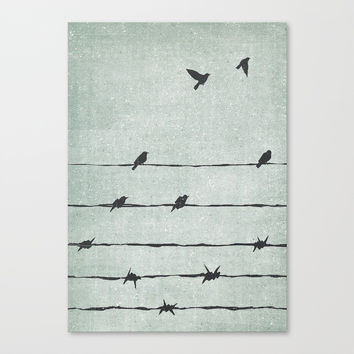 Freedom Canvas Print by davidebonazzi