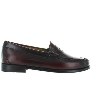 Bass Weejuns Whitney - Cordovan Leather Classic Penny Loafer