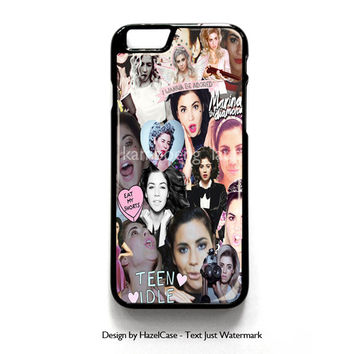Marina And The Diamonds for iPhone 4 4S 5 5S 5C 6 6 Plus , iPod Touch 4 5  , Samsung Galaxy S3 S4 S5 Note 3 Note 4 , and HTC One X M7 M8 Case Cover