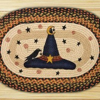 Witch Hat Oval Patch Rug