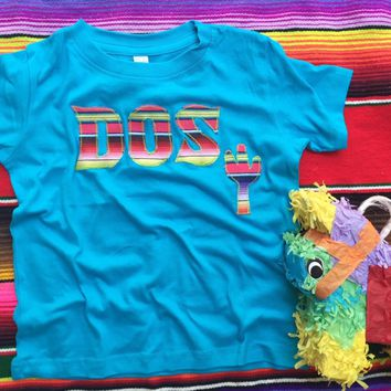 Fiesta Birthday DOS Shirt