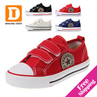 Classic Star Children Shoes 4 Colors New 2016 Casual Boys Girls Shoes Canvas Kids Sneakers Fashion Simple Rubber Sports sneakers