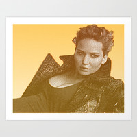 J. LAW. Art Print by Hands in the Sky