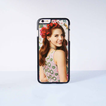 Lana del rey Plastic Case Cover for Apple iPhone 6 Plus 4 4s 5 5s 5c 6