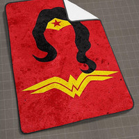 Superheroes Wonder Women blanket, funny blanket, cute and awesome blanket